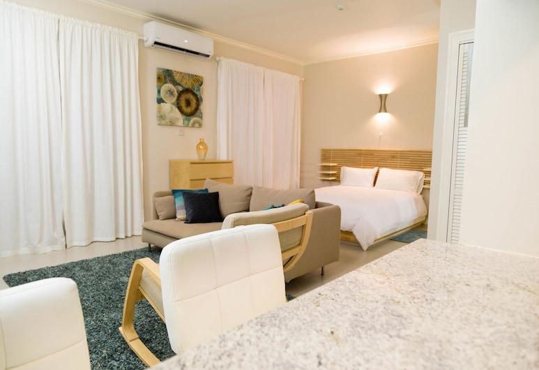 Kingsway New Kingston Guest Apartment II, Kingston, Superior-huoneisto, 1 makuuhuone, Makuuhuoneen yhteydessä oleva kylpyhuone, Huone