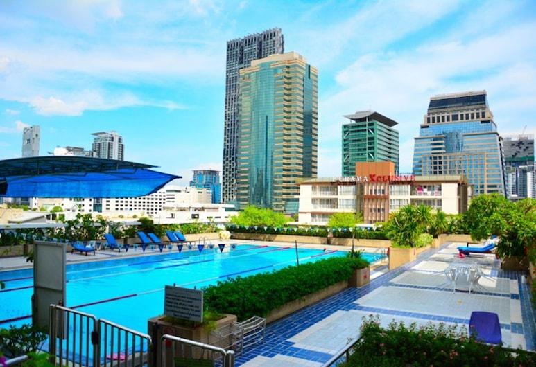 Trinity Silom Hotel, Bangkok, Außenpool