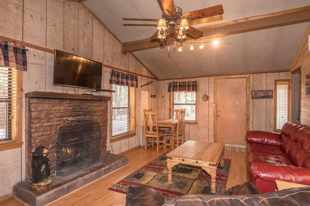 Raven Cabin - Living Room