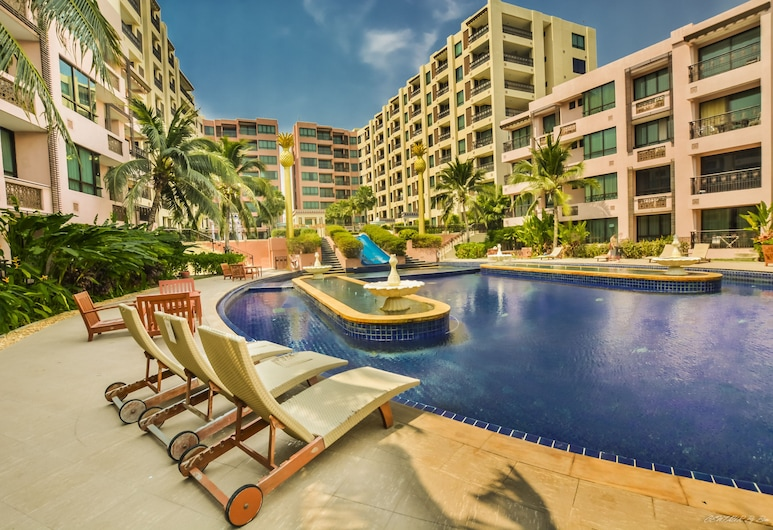 華欣普帕馬拉喀什公寓酒店, 華欣, 室外泳池