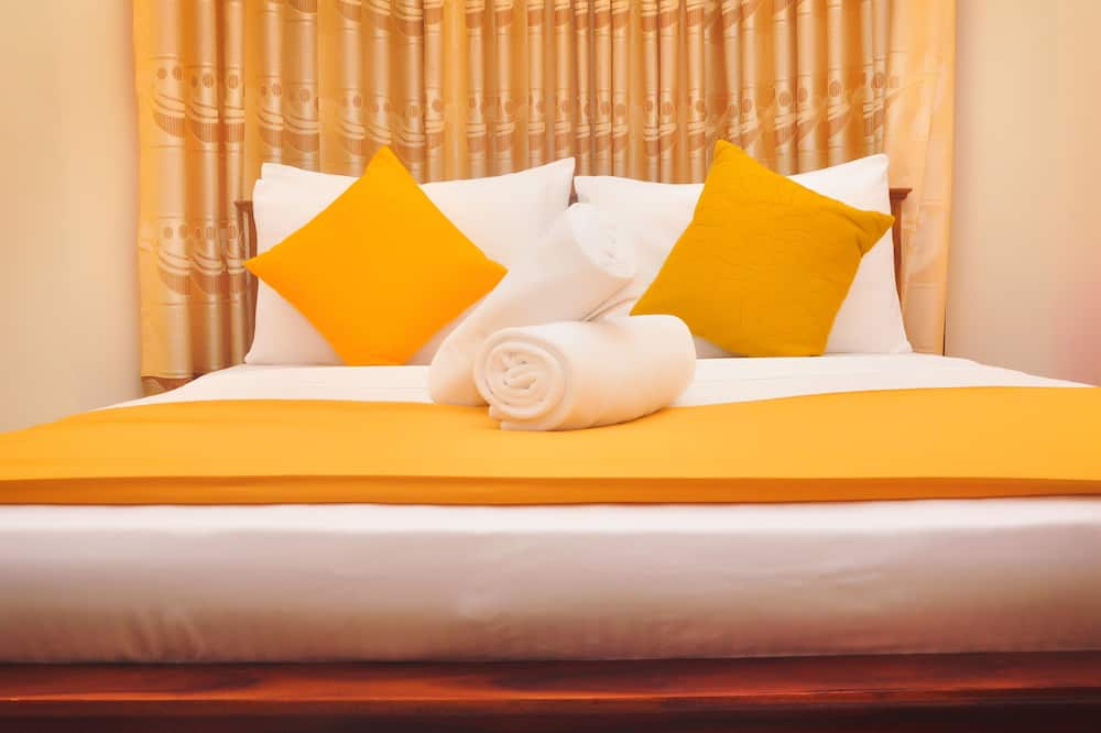 Deluxe-Doppelzimmer, 1King-Bett, eigenes Bad, Bergblick - Wohnzimmer