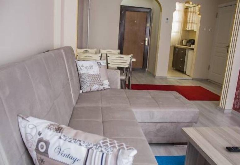 Nova Pera Apartment, Istanbul, Leilighet – family, 2 soverom, røyk, Oppholdsområde