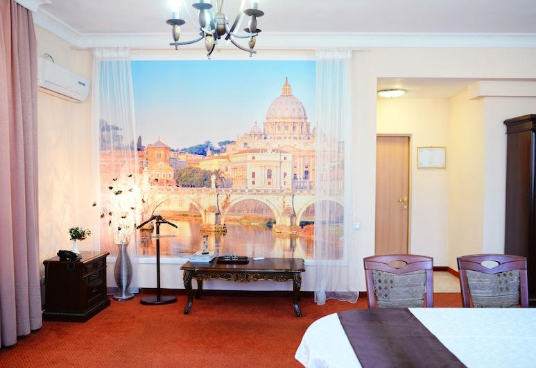 Hotel San Marino, Nur-Sultan, Sviitti, 1 makuuhuone, Vierashuone
