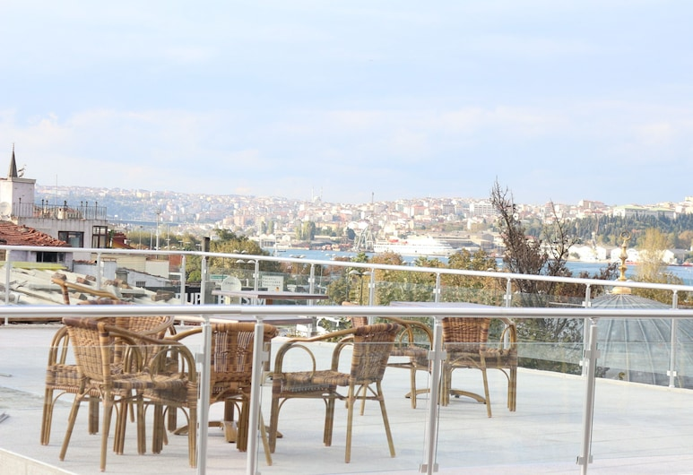 Golden Haliç Hotel, Istanbul, Terasa