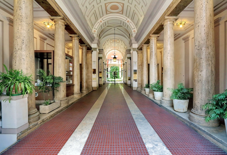 Relais Servio Tullio, Rím, Vchod do hotela