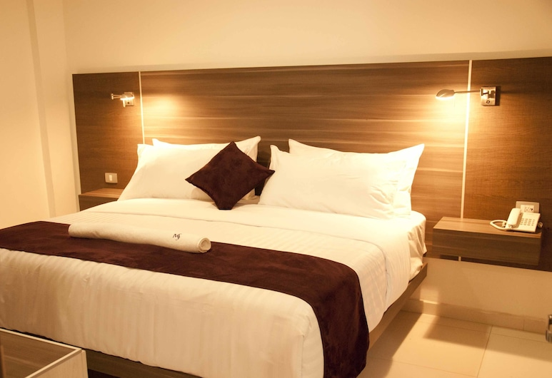 Hotel MS, San Pedro Cholula, Štandardná izba, 1 extra veľké dvojlôžko, Hosťovská izba