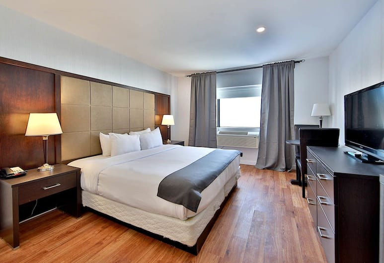 Hotel Newstar, Montreal, Room, 1 King Bed, Non Smoking, Guest Room