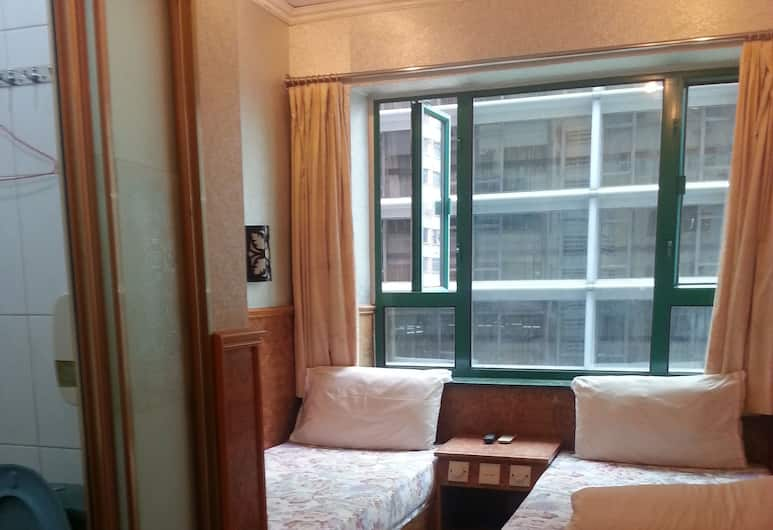 Kowloon New Hostel, Kowloon, Deluxe Double or Twin Room, Guest Room