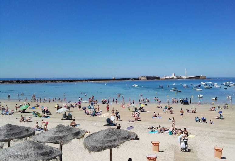 Apartamentos Maier, Cadiz, Plaża