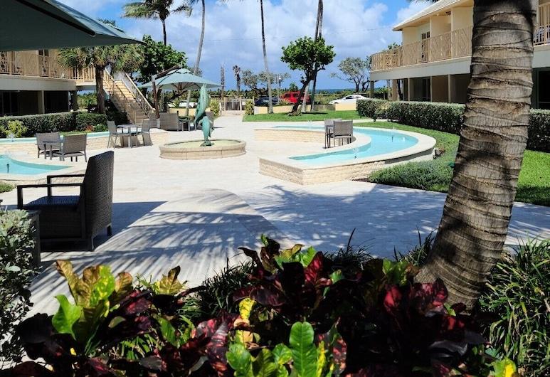 Dover House Resort, Delray Beach, Gårdsplads