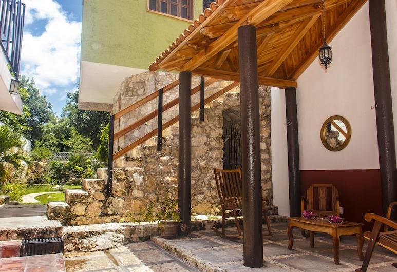 Casa de Zari B&B, Campeche, Terasa