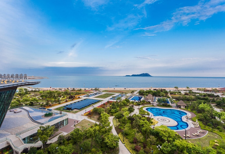 Le Meridien Qingdao West Coast Resort, Qingdao, Blick vom Hotel