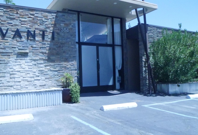 Avanti Hotel, Palm Springs, Hotel Entrance