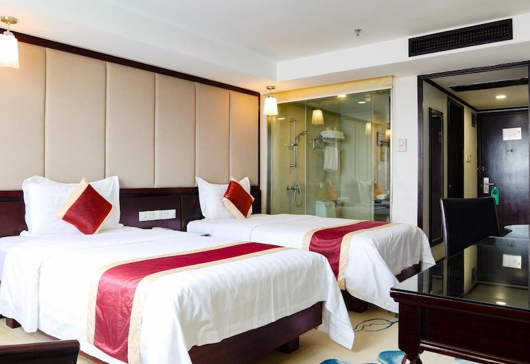 新世界大酒店, 廣州市, 豪華商務雙床房, 客房