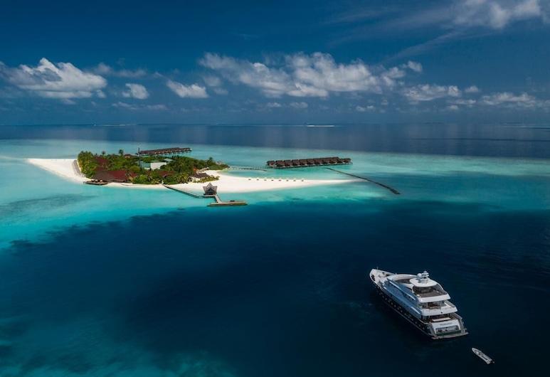 Dhigufaru Island Resort, Dhigufaruvinagan'du, Pohľad na hotel