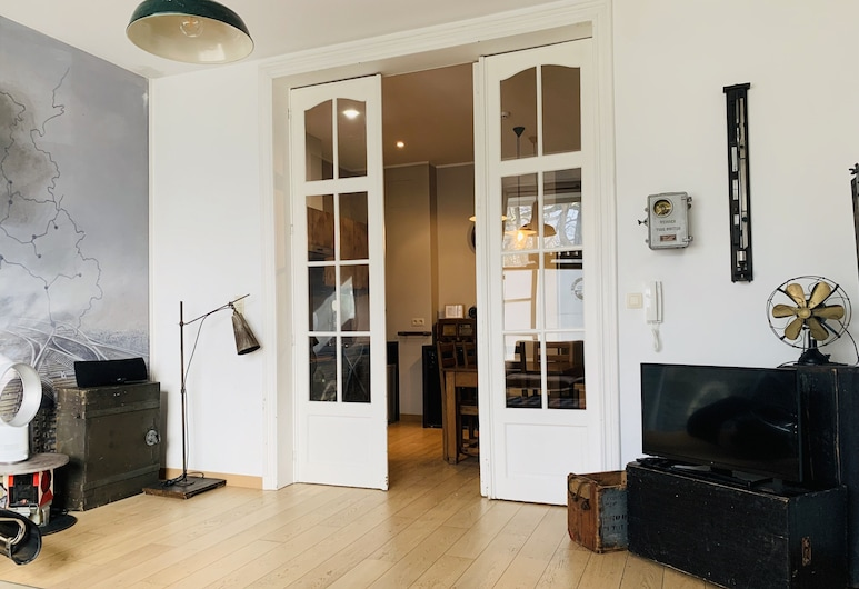 Train Flat, Bruxelles, Lejlighed - 1 soveværelse (La 12), Opholdsområde