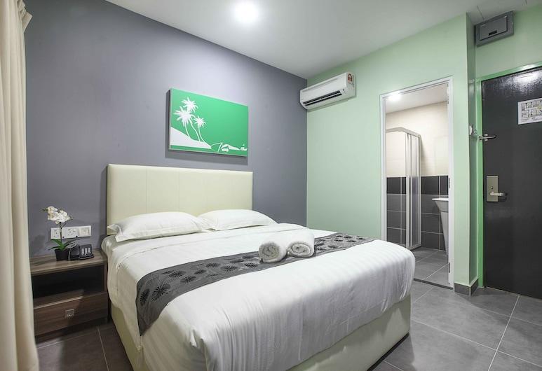 Sri Village Hotel Taman Muda Cheras, Ampang, Deluxe soba, 1 queen size krevet, Soba za goste