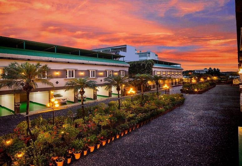 Mesasa Garden Motel, Ji'an, Entrén inifrån