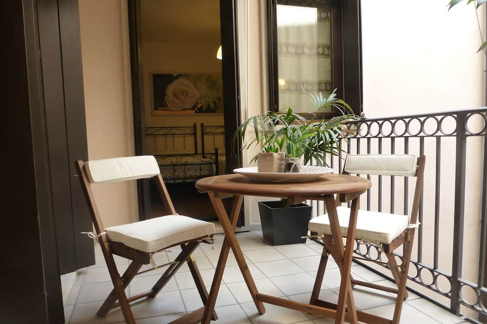 Luxusní apartmán, 2 ložnice - Balkón
