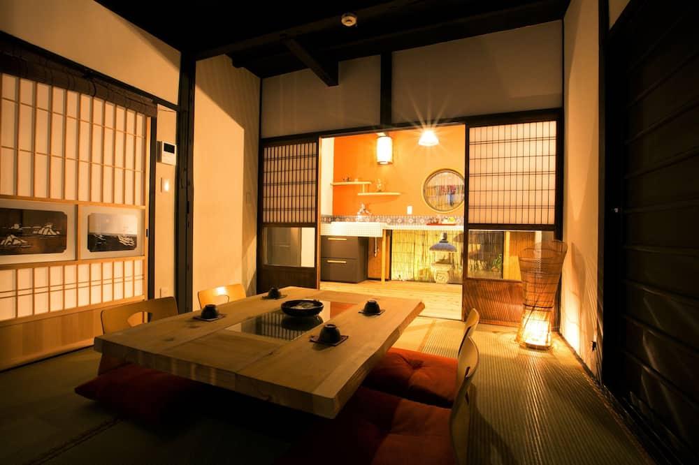 Casa tradicional (Kyoto Machiya Style) - Sala de estar