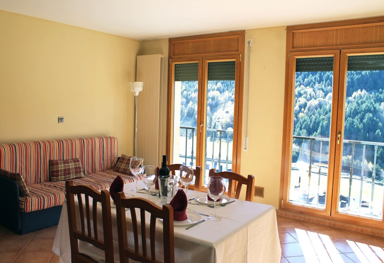 Aptos Colells, Bordes d'Envalira, Štúdio (4 people), Obývačka