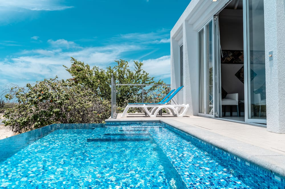 Master King Ocean View Suite with an Extra Room and Semi Private Infinity Pool - Herbergi