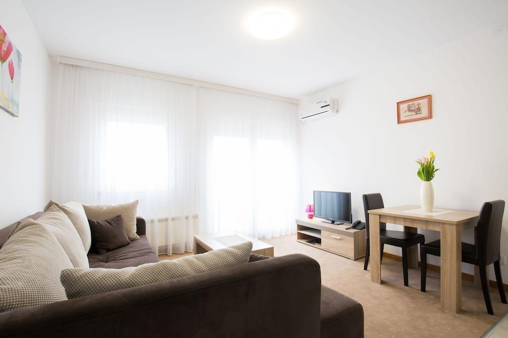 Apartament luksusowy, 1 sypialnia - Powierzchnia mieszkalna