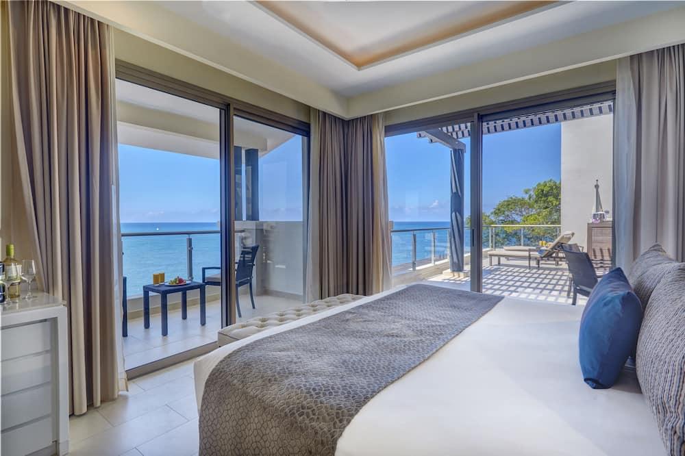 Luxury Penthouse One bedroom suite Ocean view terrace jacuzi Diamond Club - Útsýni úr herbergi