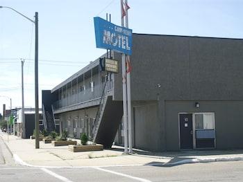 Mynd af Camrest Motel í Camrose
