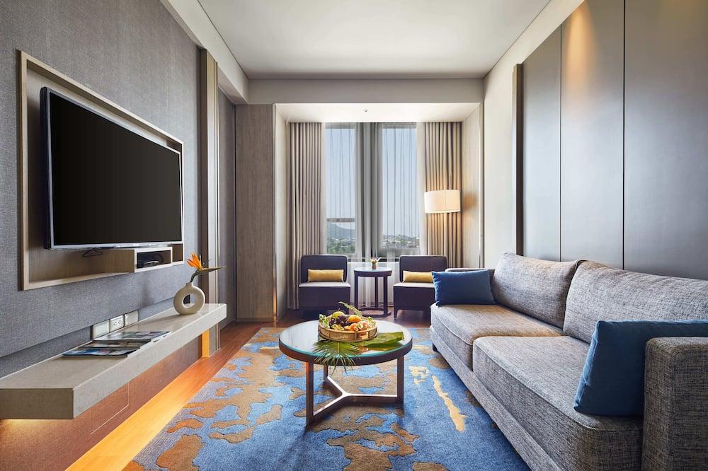 Habitación doble exclusiva, 1 cama King size - Sala de estar