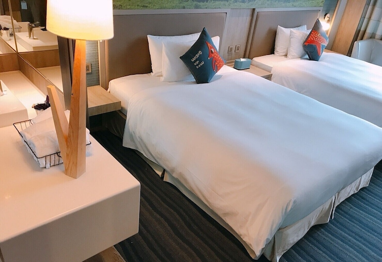 Hotel Cham Cham Taitung (Caesar Park Hotels & Resort), Taitung, Standard Tek Büyük Yataklı Oda, 2 Çift Kişilik Yatak, Oda