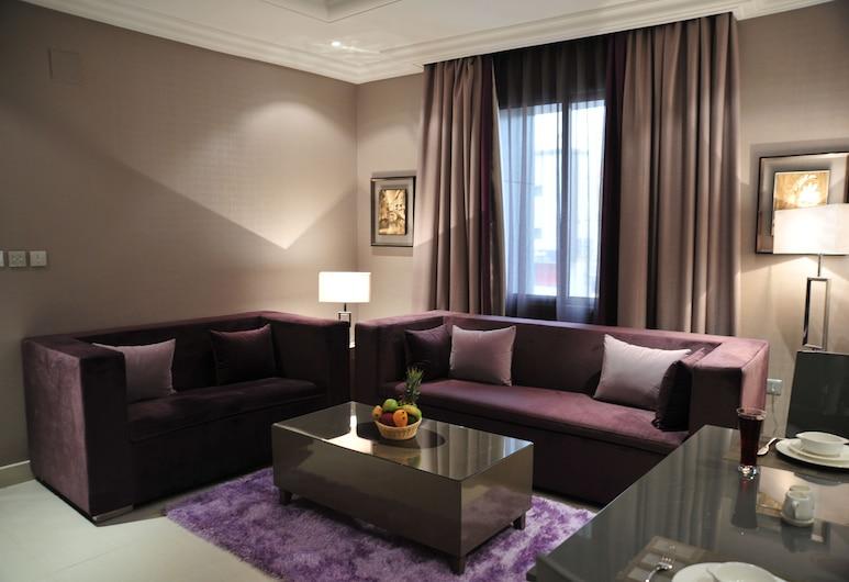 Park House Hotel Suite, Riyadh, Apartment, 1 Bedroom, Bilik Tamu