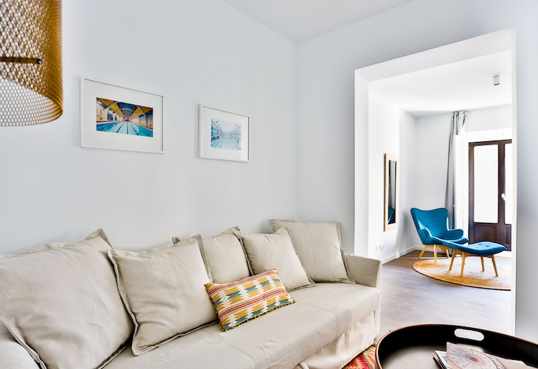 Welcomer Apartments La Latina, Madrid, Departamento, 2 habitaciones (Camarón), Sala de estar