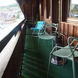 Appartement, 1 chambre, cuisine - Balcon