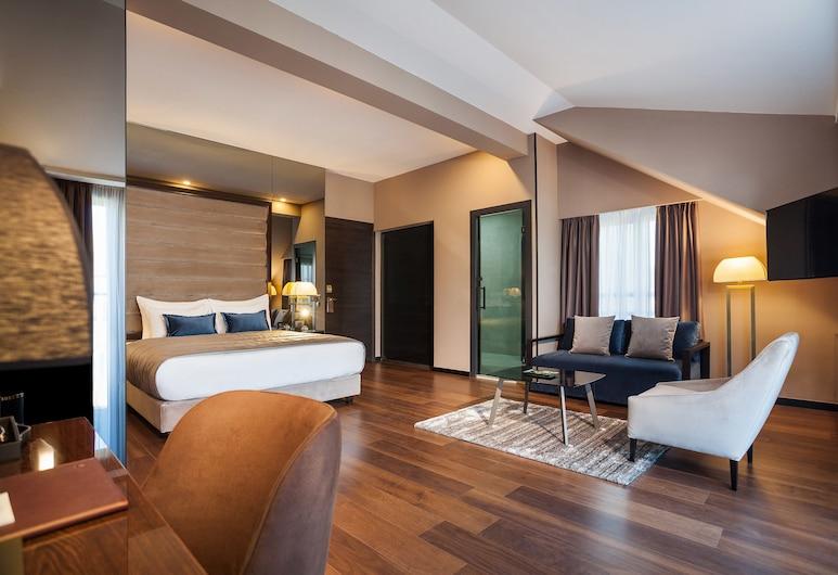 سانت تن هوتل, بيلغراد, غرفة جونيور - بشرفة, منظر من غرفة الضيوف