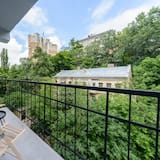 Апартаменти із покращеним обслуговуванням, 1 спальня, внутрішній дворик - Балкон