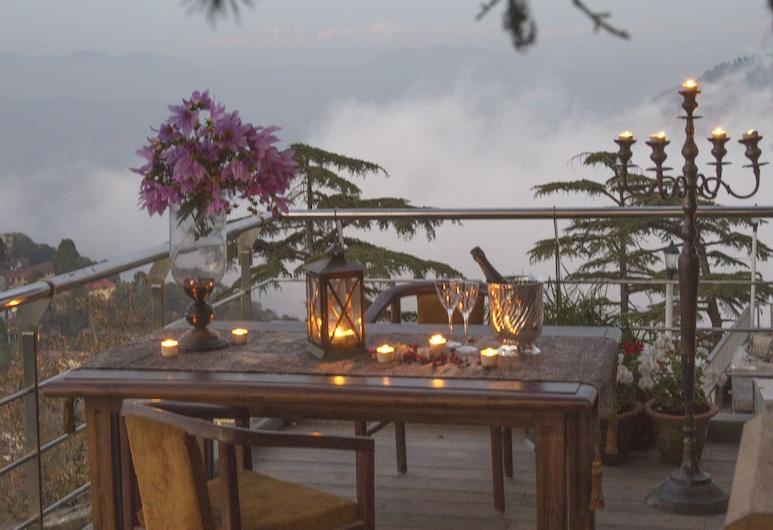 杜恩斯維爾克之苑豪華精品度假村, 馬蘇里, 室外用餐