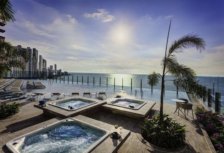 Estelar Cartagena de Indias Hotel, Cartagena, בריכה