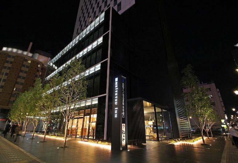 Meitetsu Inn Nagoyaeki Shinkansenguchi, Nagoya, Fassaad õhtul/öösel