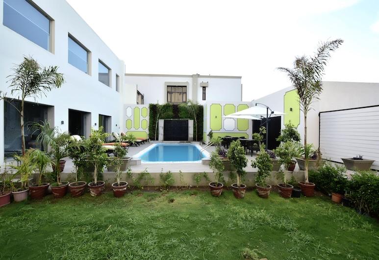 Hotel Gandharva By Peppermint, Jaipur, Piscina externa