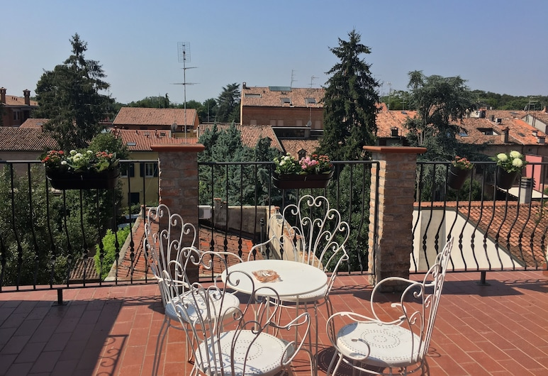 Dimora '800, Ferrara, Dreibettzimmer, Terrasse, Terrasse/Patio