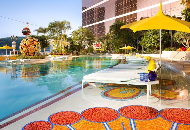 永利皇宮, 路氹, 室外泳池