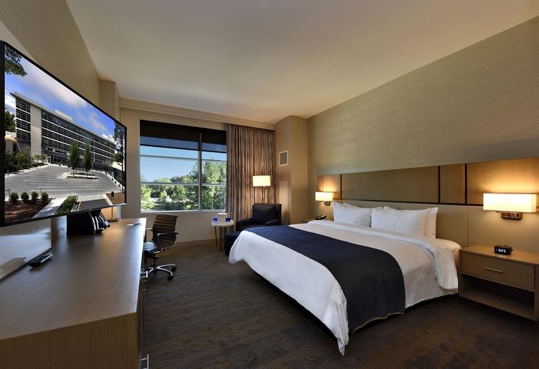 JB Duke Hotel, Durham, Superior-Zimmer, 1King-Bett, Zimmer