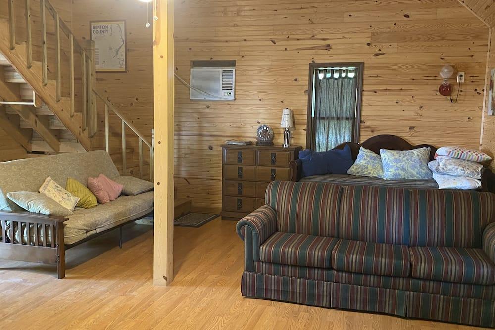 Traditional-talo, Useita sänkyjä, Vuoristonäköala - Oleskelualue