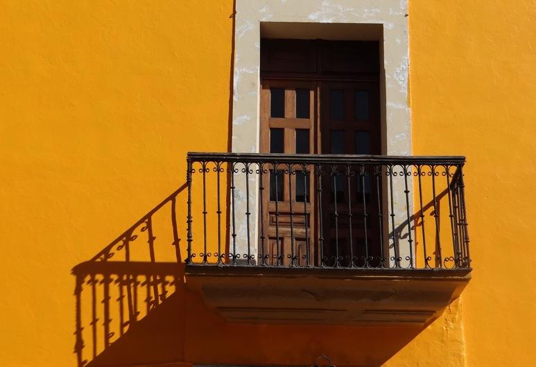 Hotel Principal, Oaxaca, Balkón