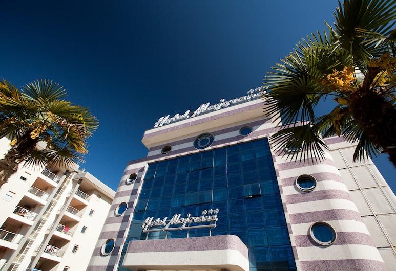 Hotel Majorana, Rende, Parte delantera del hotel