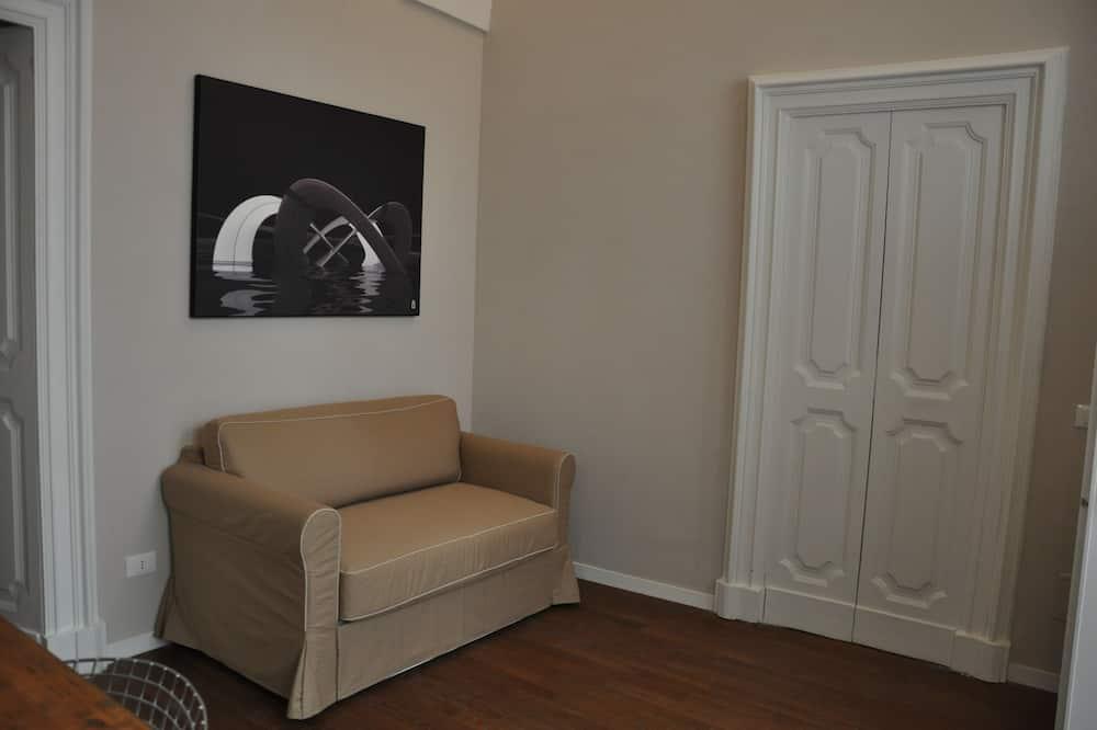 Luxury Apartment, 1 Bedroom - Living Area