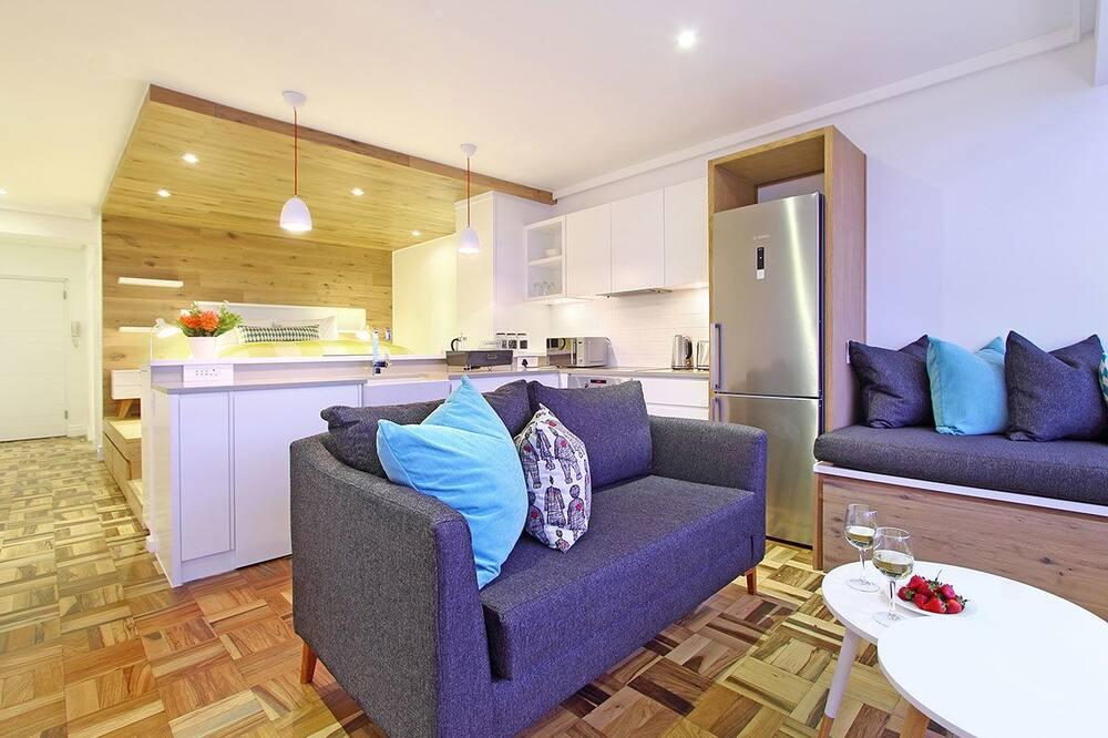 Апартаменты «люкс», 1 спальня - Зона гостиной