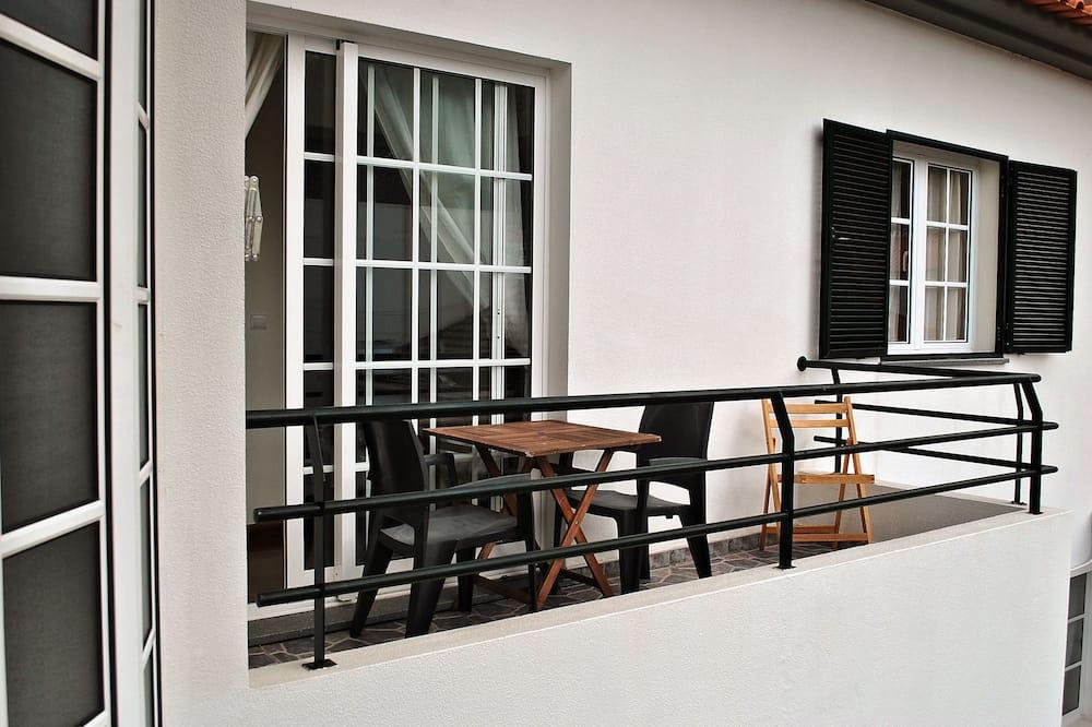 Apartamento, 3 Quartos, Vista Cidade, Em frente à praia - Varanda