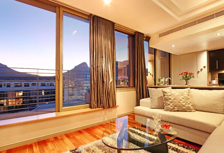 Afribode's Cartwright Apartments, Kapské mesto,  Master Luc 608, Obývačka